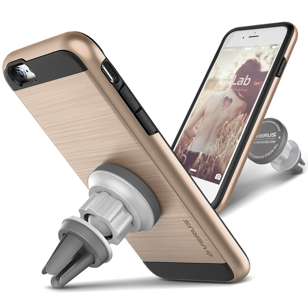 ... VERUS Magnetic Flat Case for iPhone 6/6S - [Verge Case + Car Mount
