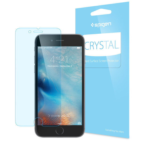 info for d41cf 26e6b Spigen Film Crystal iPhone 7/7 Plus Screen Protector [Comes with 3 Screen  Protectors]