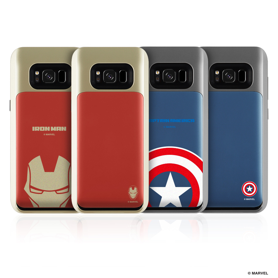 huge selection of 2a23f 3d776 Marvel Avengers i-Slide Pro Case for Galaxy S8/S8 Plus