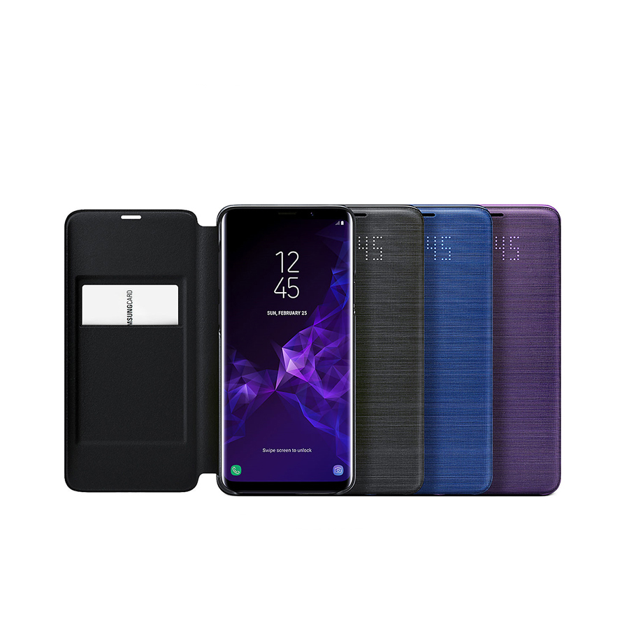 Official Samsung Galaxy S9 S9 Plus Led View Cover Case