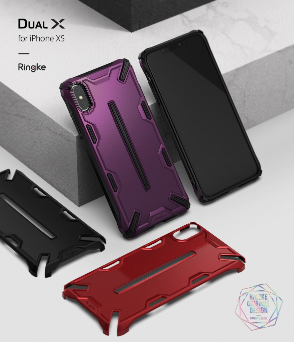 online store aa894 257b5 REARTH Ringke Dual X Case for iPhone XS Max