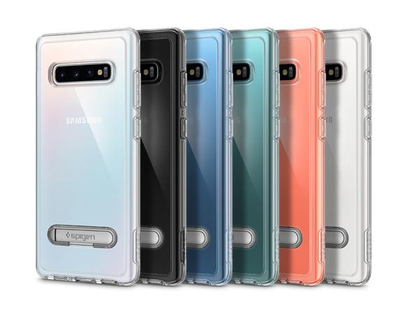 new style d61dc 6752f Spigen Slim Armor Crystal Case for Galaxy S10/S10 Plus - Clear