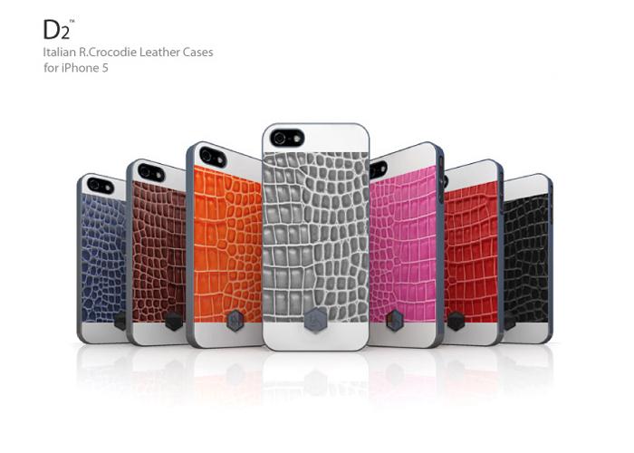 the best attitude 7c77d 106bf SLG Design D2 Italian R.Crocodile Leather Case for iPhone 5/5S